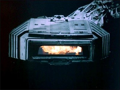 battlestar galactica burning series