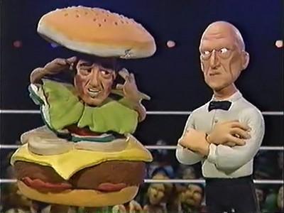 Celebrity deathmatch nick diamond jr vs undertaker